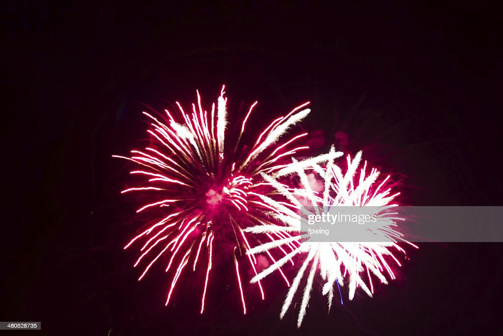 Fantasy of fireworks : Stockfoto