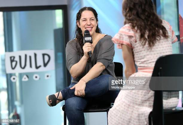 Fany Gerson discusses her new book 'Mexican Ice Cream Beloved Recipes and Stories' at Build Studio on June 9 2017 in New York City