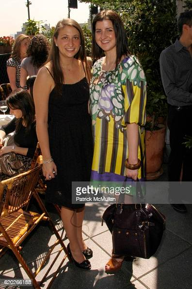 Fara Jellson and Jessica Karcher attend Stephanie Seymour and Patrice Kretz Celebrate the Chantelle Ad Campaign at The Gramercy Park Hotel Private...