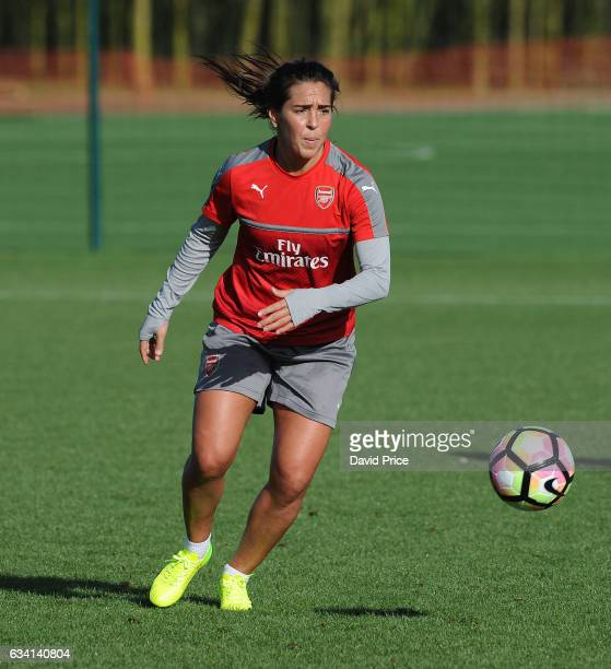 Fara Williams of Arsenal Ladies during Arsenal Ladies Training Session at London Colney on February 7 2017 in St Albans England