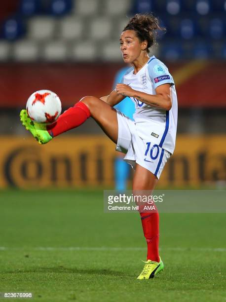 Fara Williams of England Women during the UEFA Women's Euro 2017 match between Portugal and England at Koning Willem II Stadium on July 27 2017 in...