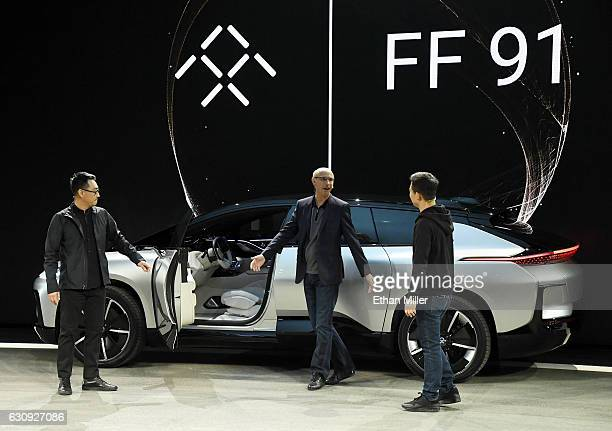 Faraday Future Vice President of Design Richard Kim Faraday Future Senior Vice President of Research and Development and Engineering Nick Sampson and...