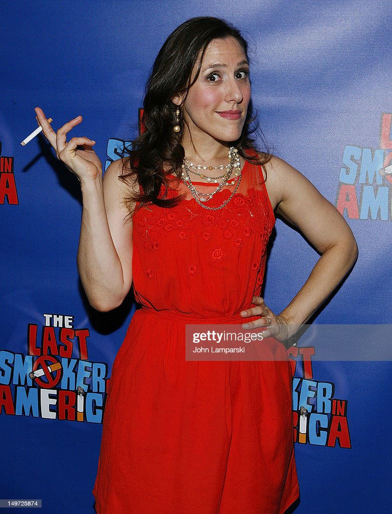 Farah Alvin attends 'The Last Smoker In America' Hosts 'Smoke-in/Smoke-Out' at The Westside Theatre on August 2, 2012 in New York City.