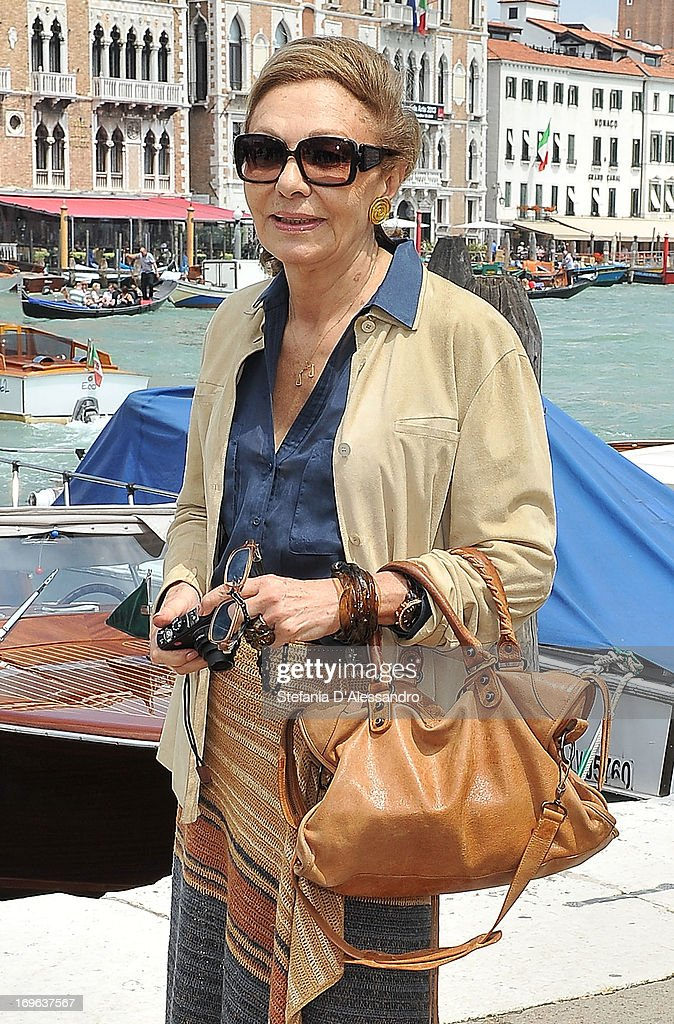 Farah Diba attends Prima Materia VIP Preview on May 29, 2013 in Venice, Italy.
