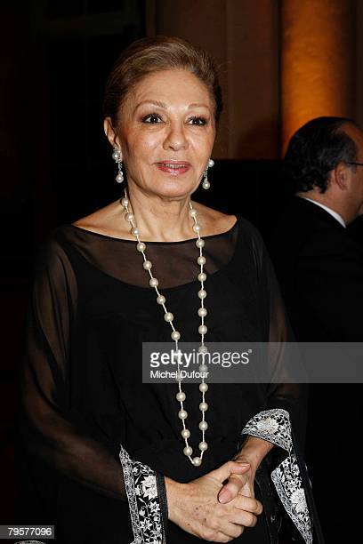 Farah Dibba attends a gala hosted by Professor David Khayat to raise money for cancer organisation AVEC Foundation on February 5 2008 at the Castle...
