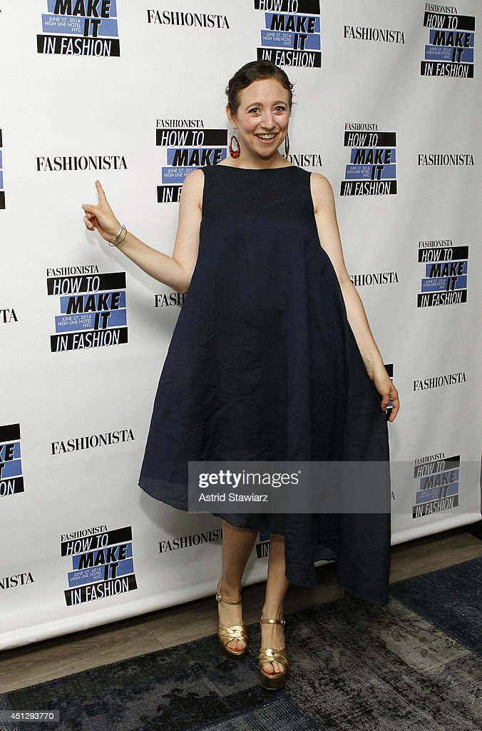 Faran Kretcil attends Fashionista.com Celebrates 'How To Make It In Fashion' Conference With VIP Party At The Skylark In New York, NY on June 26, 2014 in New York City.