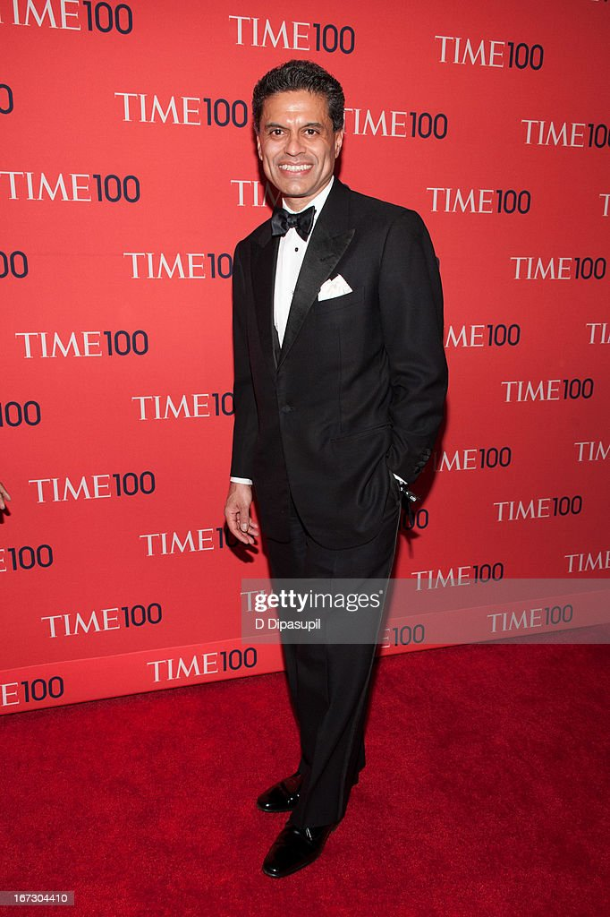 Fareed Zakaria attends the 2013 Time 100 Gala at Frederick P. Rose Hall, Jazz at Lincoln Center on April 23, 2013 in New York City.