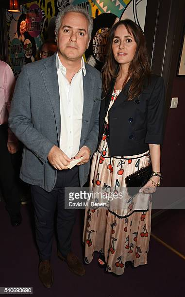 Fares Fares and Tania Fares attend 'Hoping's Greatest Hits' the 10th anniversary of The Hoping Foundation's fundraising event for Palestinian refugee...