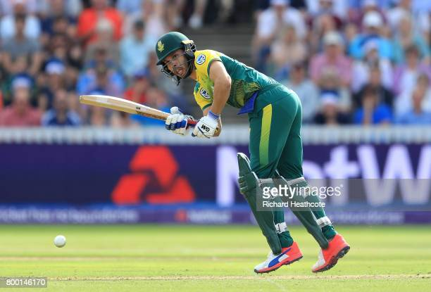 Farhaan Behardien of South Africa in action during the 2nd NatWest T20 International match between England and South Africa at The Cooper Associates...