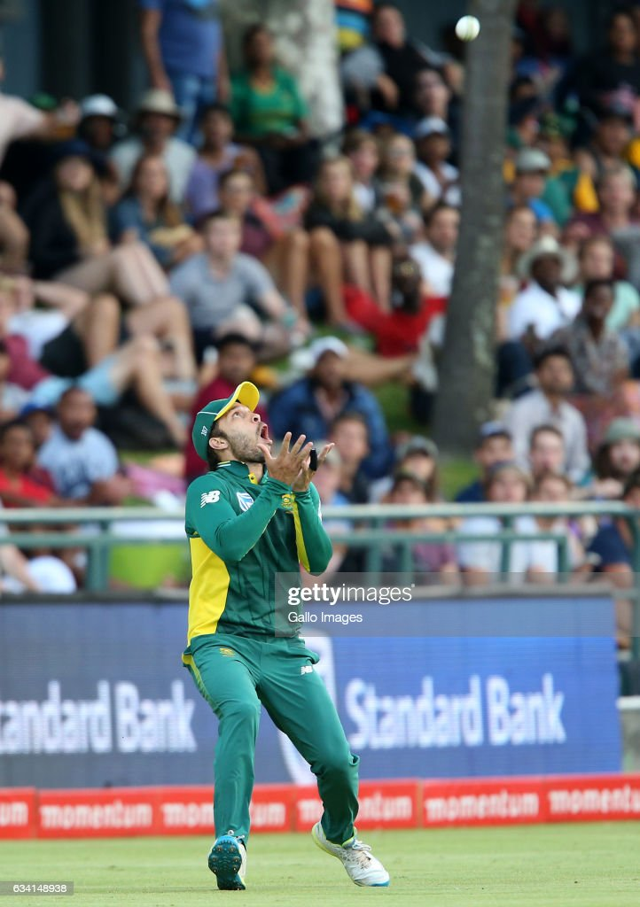 Farhaan Behardien of the Proteas during the 4th ODI between South Africa and Sri Lanka at PPC Newlands on February 07, 2017 in Cape Town, South Africa.