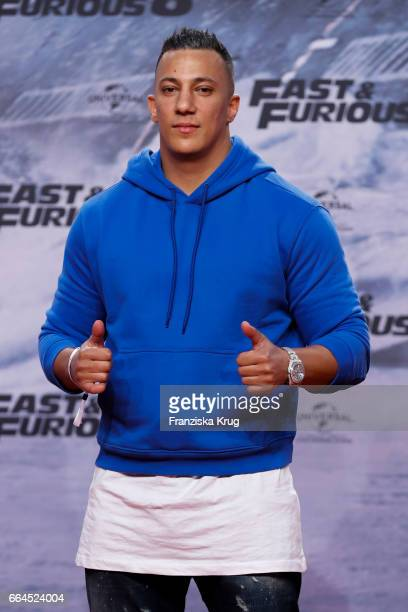 Farid Hamed El Abdellaoui attends the Fast Furious 8 Berlin Premiere at Sony Centre on April 4 2017 in Berlin Germany