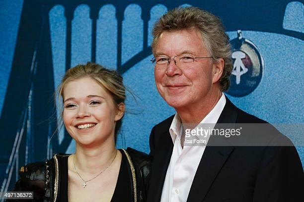 Farina Flebbe and HansJoachim Flebbe attend the 'Bridge of Spies Der Unterhaendler' World Premiere In Berlin on November 13 2015 in Berlin Germany