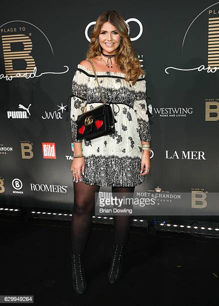 Farina Opoku arrives at the Place To B Influencer Award at Axel Springer Haus on December 15 2016 in Berlin Germany