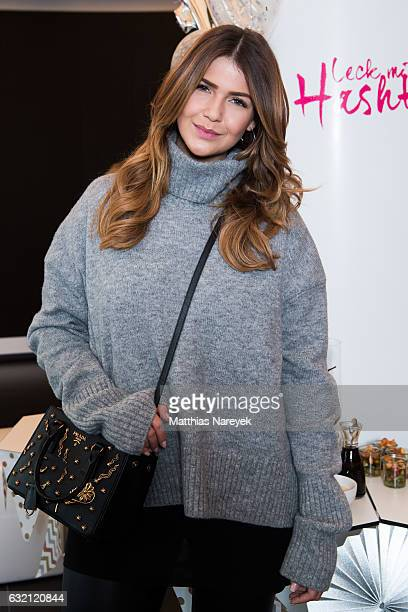 Farina Opoku attends the 'LECK MICH AM HASHTAG' brunch during MercedesBenz Fashion Week Berlin A/W 2017 on January 19 2017 in Berlin Germany