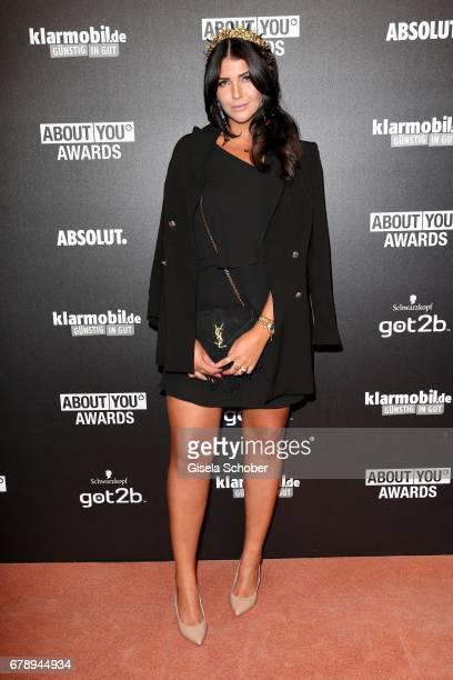 Farina Opoku novalanalove during the ABOUT YOU AWARDS at the Mehr Theater in Hamburg on May 4 2017 in Hamburg Germany