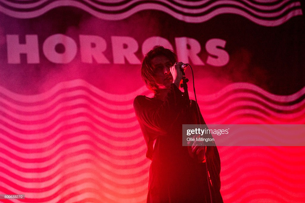 Faris Badwan of The Horrors performs onstage at Nottingham Capital FM Arena on December 8 2015 in Nottingham England