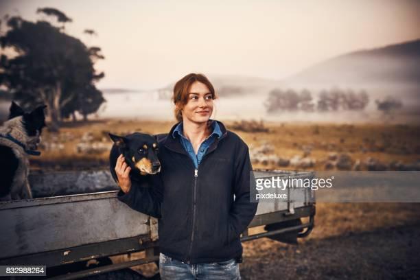 Farm air is the freshest air
