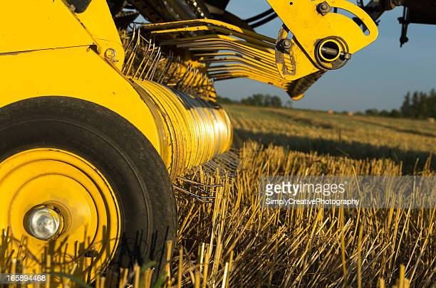 Farm Equipment Closeup