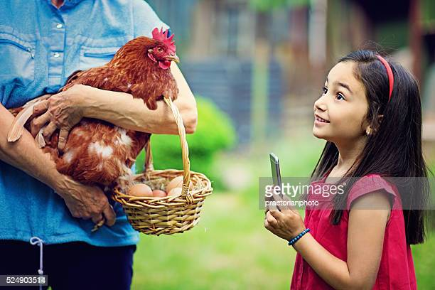 Farm Mädchen