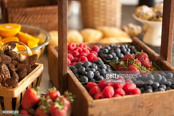 Farm Harvest in Kitchen