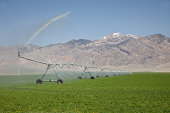 Farm irrigation in Idaho