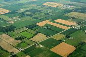 Farm land, Ontario Canada
