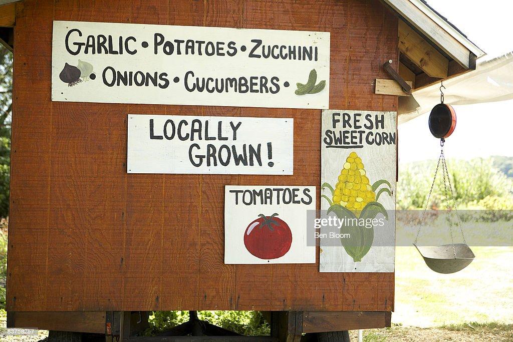 Farm Market Cart : Stock Photo