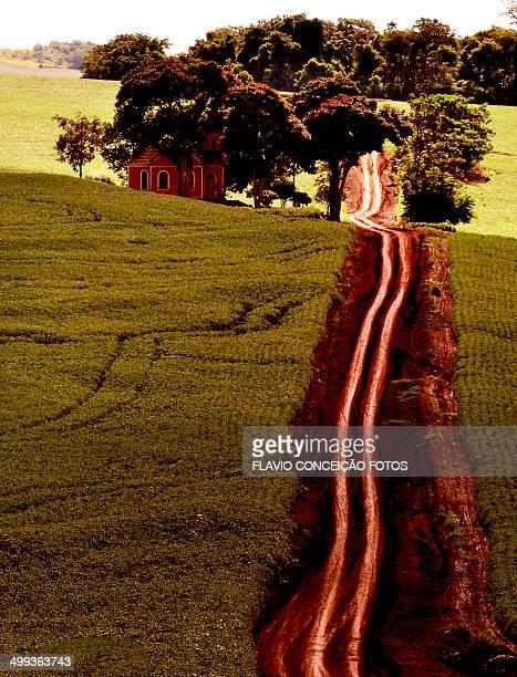 farm road Brazil