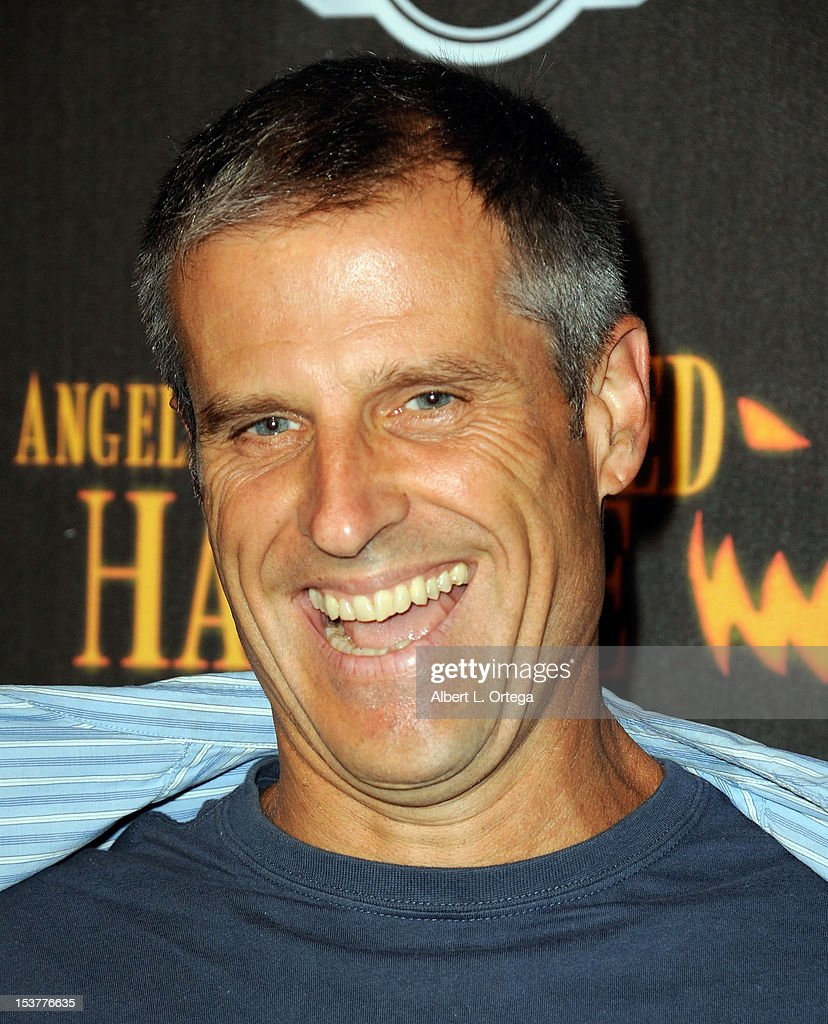 Farm Sanctuary Gene Baur arrives for the 4th Annual Los Angeles Haunted Hayride - 'The Congregation' - Arrivals held at Griffith Park on October 7, 2012 in Los Angeles, California.