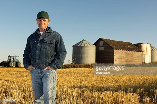 Farmer und Farm