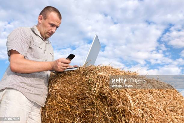Farmer und mobile Technologien