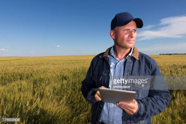 Farmer and Tablet