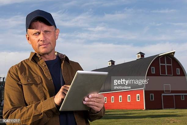 Farmer and Tablet
