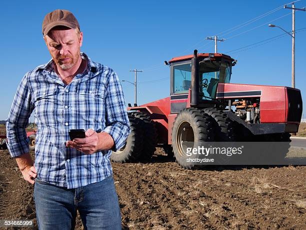 Farmer and Texting