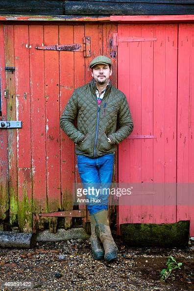 Farmer and tv presenter Jimmy Doherty is photographed for the Independent on November 28 2012 in Danbury England
