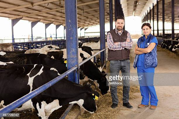 Farmer and Vet