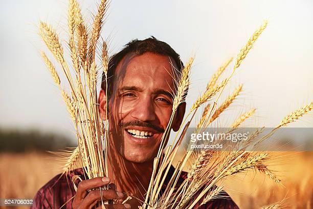 Farmer And Wheat