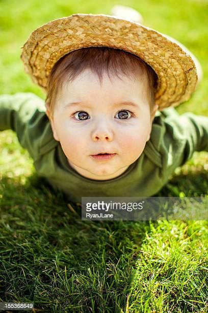 Agriculteur bébé