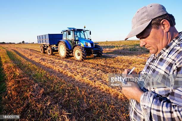 Farmer counts cost