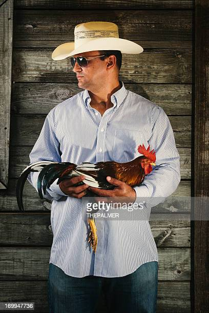 農家ながら戦うルースター