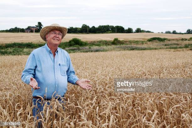 Farmer in Wheat