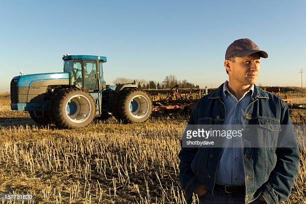 Farmer in Thought