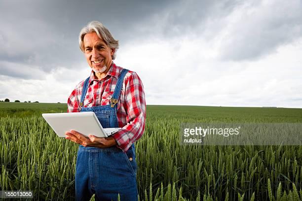 Agriculteur vendre sa culture sur internet