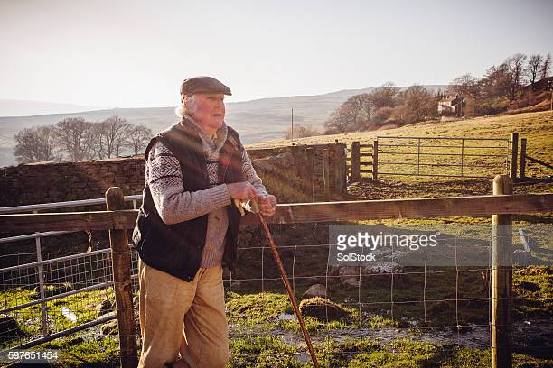Farmer who loves his life