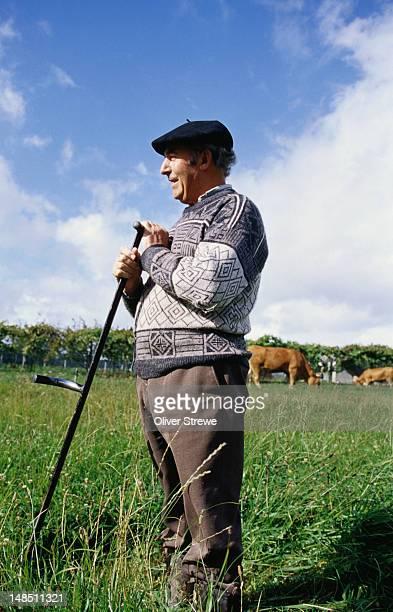 A farmer with his scythe - Galicia