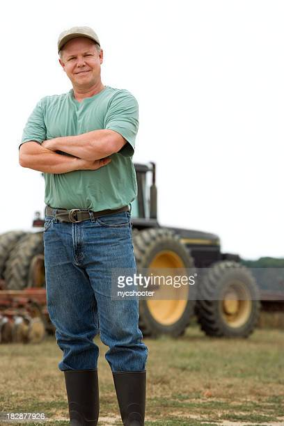 farmer with Tractor