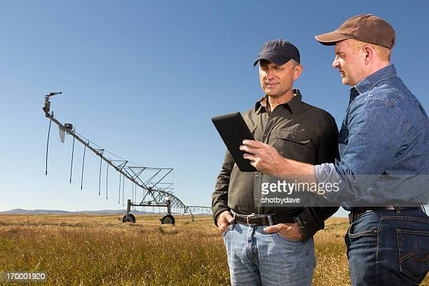 Farmers and Tablet PC