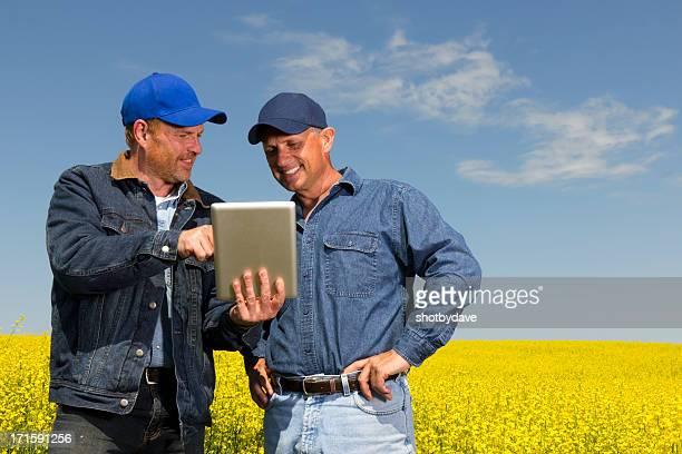 Os agricultores e Tablet PC