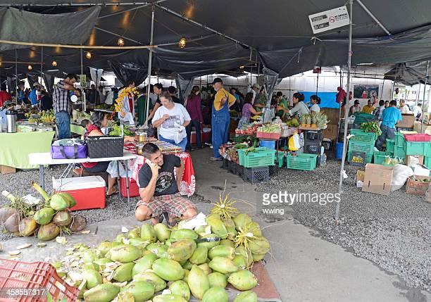 Farmers' Market in Hilo