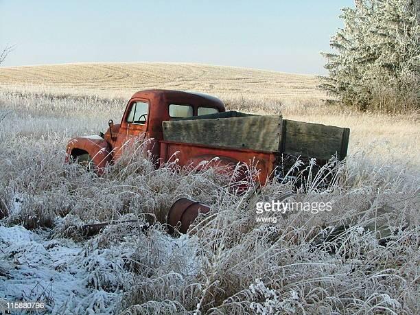Farmer's camion rotto e Abbandonato